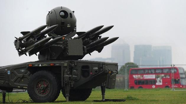 Batalla Olímpica: los londinenses contra los misiles