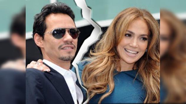 Jennifer López y Marc Anthony se divorcian tras siete años de matrimonio