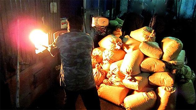 Usan tres toneladas de drogas incautadas para calentar un pueblo siberiano