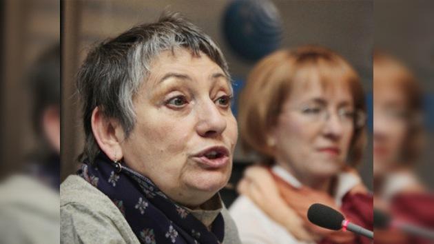 Escritora rusa Liudmila Ulítskaya recibe el premio de Simone de Beauvoir