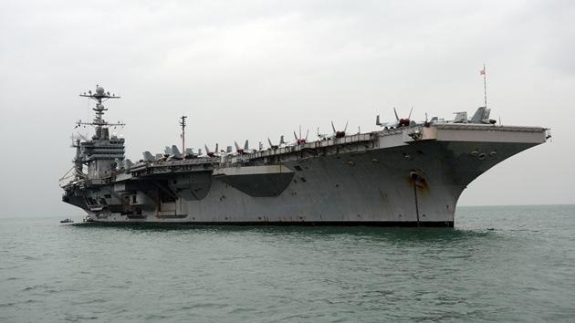 EE.UU. y Japón realizan ejercicios navales cerca de una zona en disputa con China
