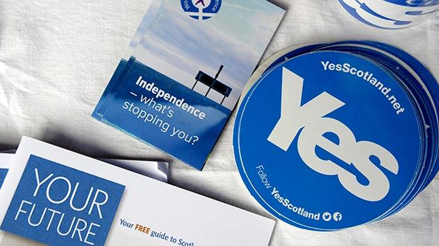 Empresas británicas amenazan a Escocia con pérdidas si se independiza