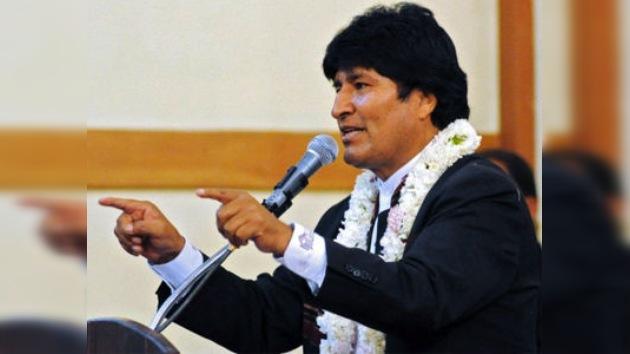 Evo Morales pide ley para derribar narcoavionetas