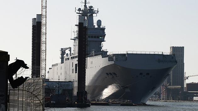 Francia no tiene 'plan B' si decide no entregar los Mistral a Rusia