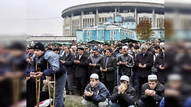Los musulmanes de Rusia  celebran el fin del Ramadán