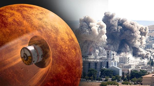 Los ataques aéreos de EE.UU. contra el EI cuestan más que la misión india a Marte