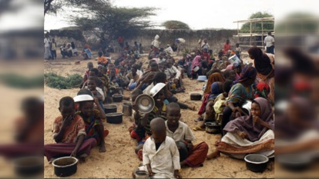 Medio millón de niños podrían morir por la sequía en el Cuerno de África