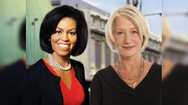 Helen Mirren y Michelle Obama, nuevas estrellas de cera del Madame Tussauds