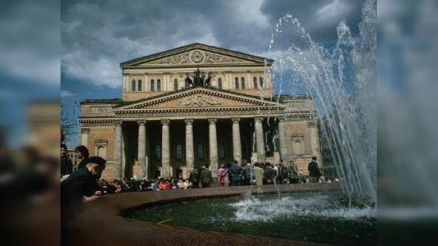 El Teatro Bolshoi volverá a mostrar la 'cara'