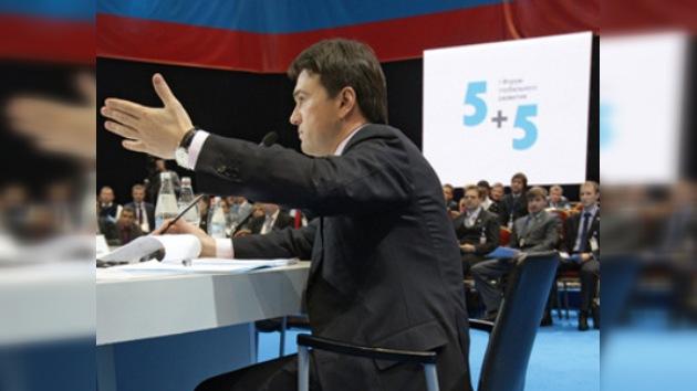 Jóvenes gerentes debatieron sobre el futuro de Rusia