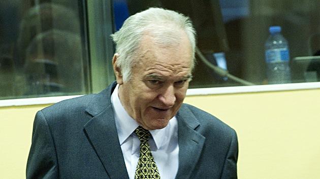 Aplazan indefinidamente el juicio contra Ratko Mladic