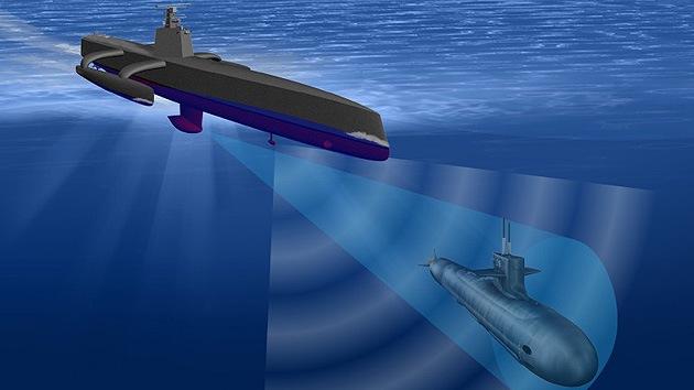 EE.UU. construye el primer robot submarino del mundo