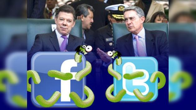 Anonymous 'hackea' las cuentas personales de Santos y Uribe