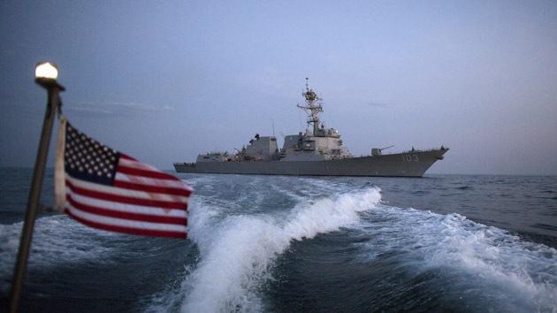 El destructor Truxtun de EE.UU. puso rumbo al golfo Pérsico