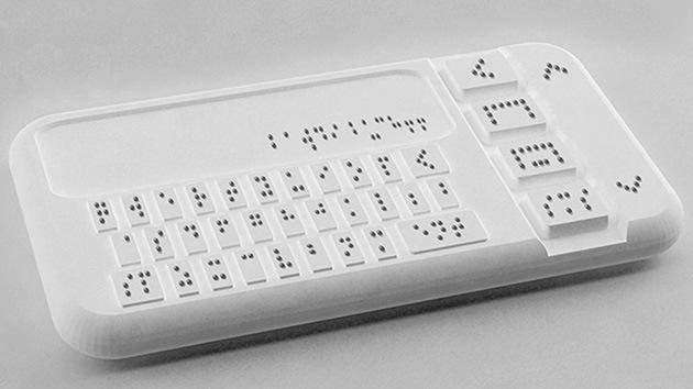 Aparece el primer teléfono inteligente para invidentes
