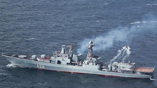 Un destacamento de buques de guerra rusos realizará maniobras en el océano Atlántico