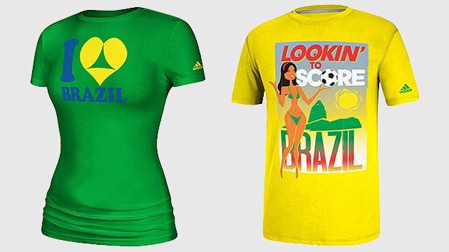 Adidas retira del mercado camisetas de Brasil 2014 por invitar al turismo sexual