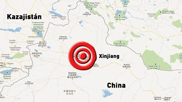 Un sismo de 6,3 grados sacude el oeste de China