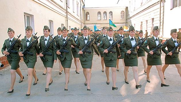 Rusia quiere más mujeres en el Ejército