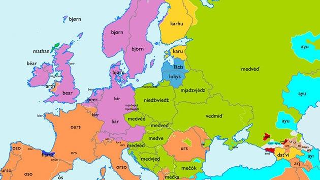 """Viaje por Europa a la última frontera de las palabras: ¿de dónde viene """"oso"""" o """"rosa""""?"""