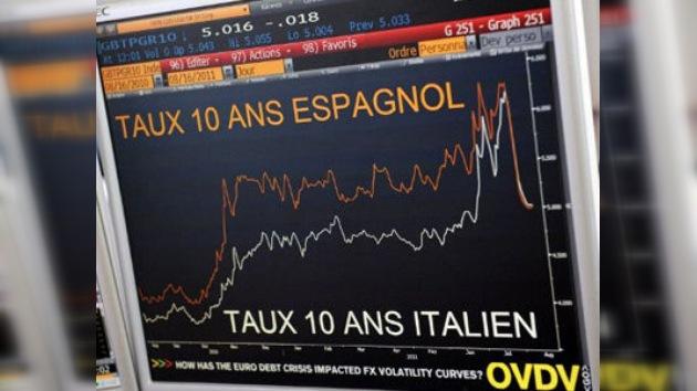 Los mercados castigan sin piedad a la deuda de España e Italia