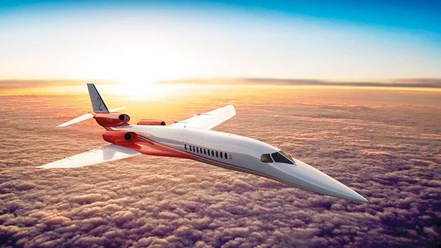 Video, fotos: El 'mini-concorde' supersónico de negocios levantará el vuelo en 2019