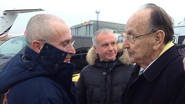 Jodorkovski: Pedí el indulto por circunstancias familiares, la cuestión de mi culpa no fue planteada