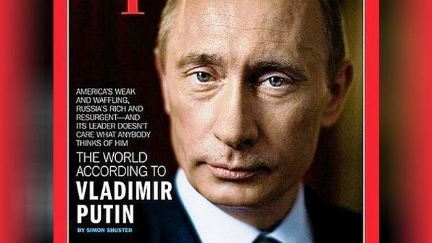 EE.UU. teme mostrar a Putin en la portada de la revista 'Time'