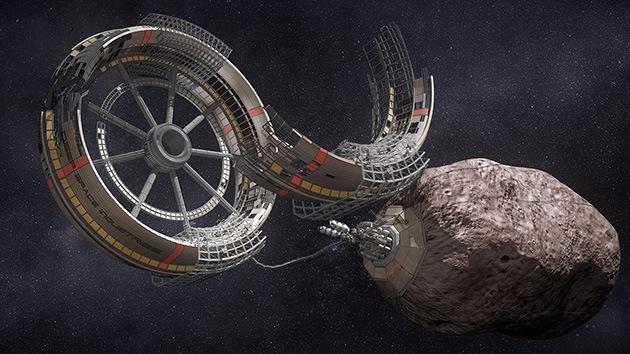Minería espacial: así se hace realidad la ciencia ficción