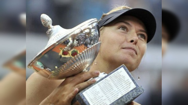 Sharápova asciende hasta la séptima posición de la WTA tras su triunfo en Roma