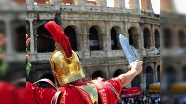 Crisis a la italiana: Los 'centuriones' y 'gladiadores' vuelven a pelear en el Coliseo