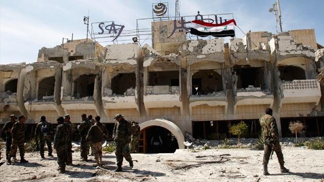 Al menos a 50 soldados sirios mueren en una emboscada perpetrada por yihadistas