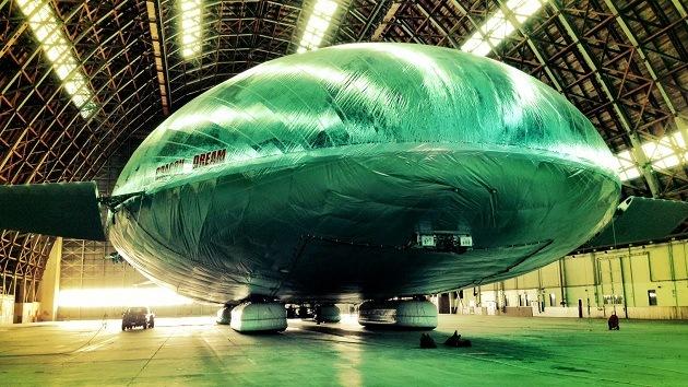¿Es un dirigible? ¿Es un avión..? El Dragon Dream planea revolucionar la aviación