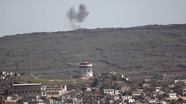 Israel abre fuego contra territorio sirio
