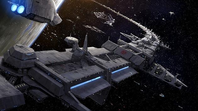 Rusia planea crear un astillero orbital para construir naves interplanetarias