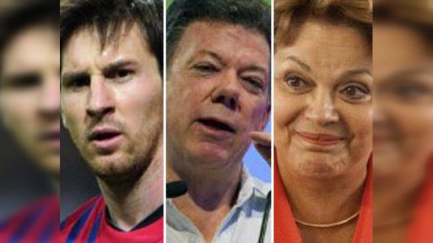Messi, Santos y Rousseff entre los más influyentes del mundo, según 'Time'