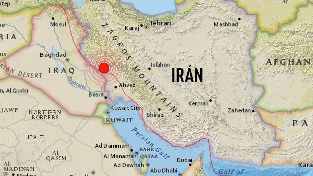 Un sismo de magnitud 6,2 en Irán deja al menos 50 heridos