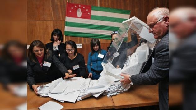 Las elecciones presidenciales en Abjasia se consideran válidas