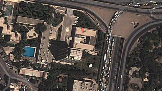 Tres heridos por el impacto de un obús de mortero en la embajada rusa en Siria