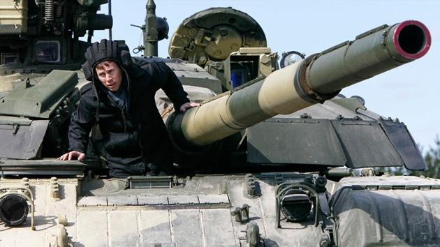 Ucrania realizará ejercicios militares en el centro de Kiev