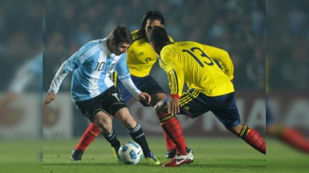 Colombia 'perdona' a Argentina en la Copa América