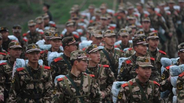 Militares chinos invaden territorio de la India