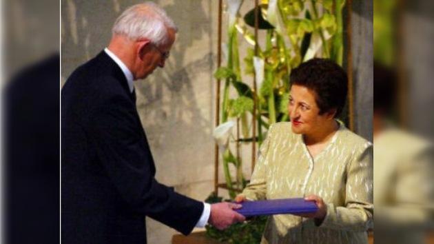 Las autoridades de Irán sustrajeron a Shirin Ebadi su Premio Nobel