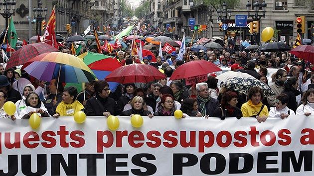 Fotos: Barcelona marcha contra los recortes