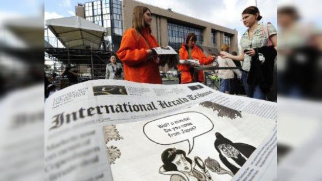 Periódico norteamericano pide disculpas a Japón por caricatura de alimento radioactivo