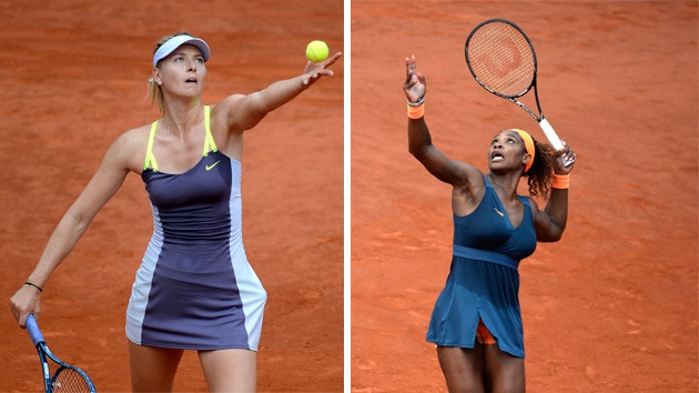 Serena Williams vence a Sharápova en la final de Roland Garros