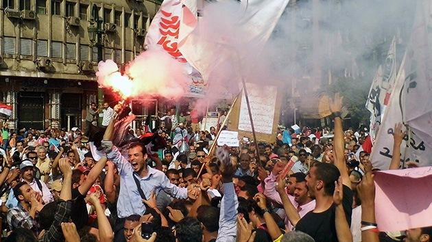 'Protesta del millón' en Egipto contra el decreto faraónico de Morsi