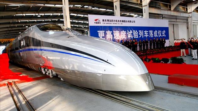 China pondrá en marcha el tren más veloz del mundo