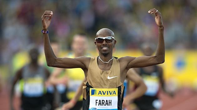 El medallista olímpico británico Mo Farah, detenido en EE.UU. como presunto terrorista