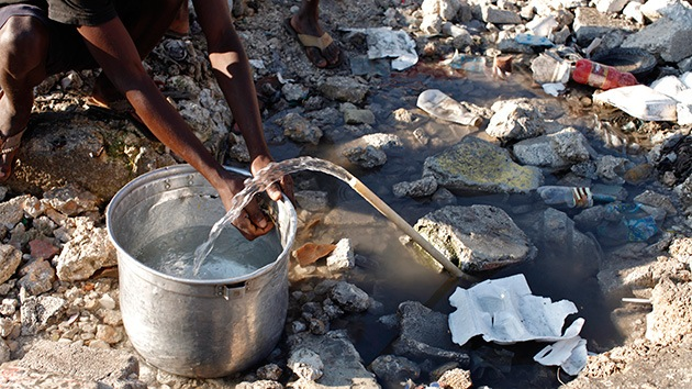 Niñas menores de 10 años se prostituyen a cambio de agua en Haití